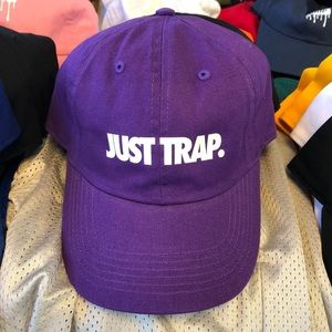 Just Trap Dad Cap - Purple